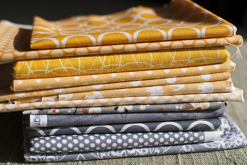 Some bee fabrics