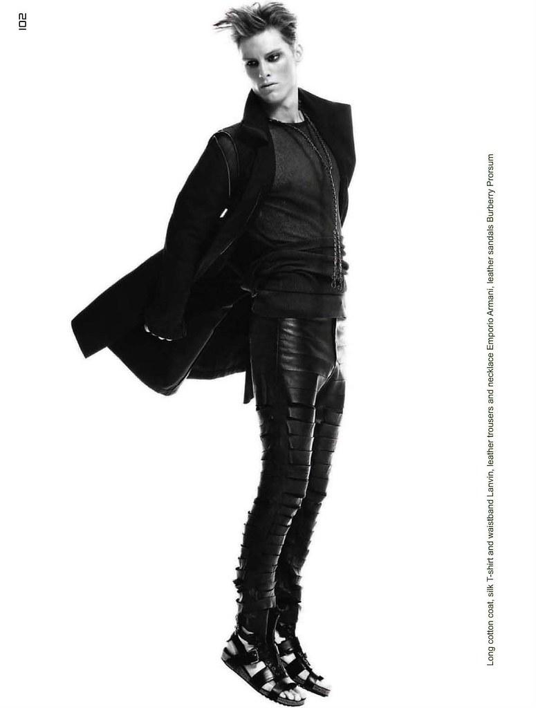 Gordon Bothe0161_Collezioni Uomo SS11_Ph Mario Gomez(Homme Model)