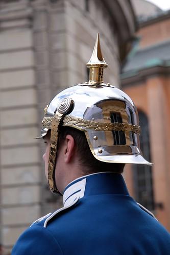 Changing of the guard, Royal Palace