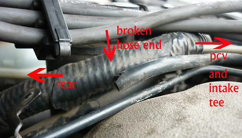 broken vacuum hose chevrolet malibu forums Timing Light Diagram