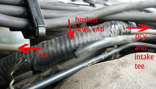 Broken vacuum hose | Chevrolet Malibu Forums