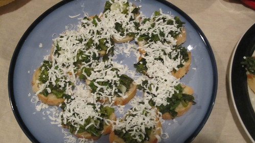 Broccoli Rabe Bruschetta
