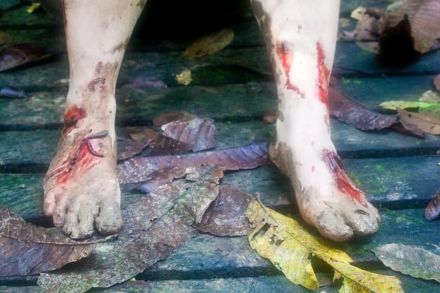 Barefoot & leeches