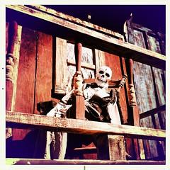 Porch Skeleton by Jason Willis
