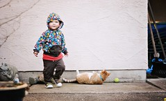 I personally love this snapshot. (Lily Zhu) Tags: oscar backyard outdoor 2yearsold randomsnapshot dsc9456copy
