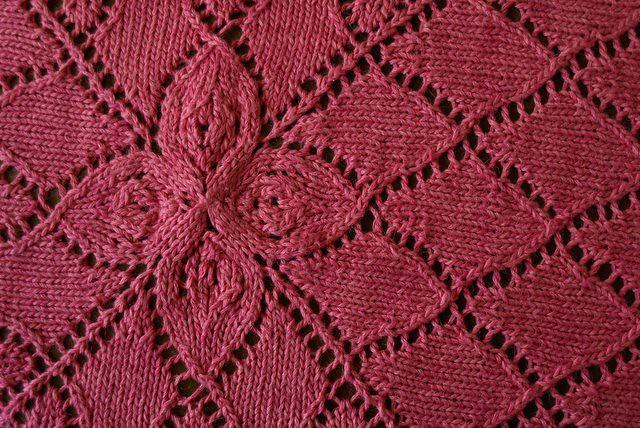 Ravelry Lotus Baby Blanket Pattern By Shana Schasteen