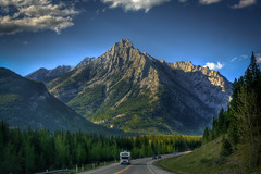 Rockies are forever (JoLoLog) Tags: trees canada mountains rocks alberta lorien kananaskiscountry canadianrockies canonxsi mygearandme mygearandmepremium mygearandmebronze mygearandmesilver mygearandmegold mygearandmeplatinum mygearandmediamond highway40betweenmtlorettepondsandwedgepond theroclymountains