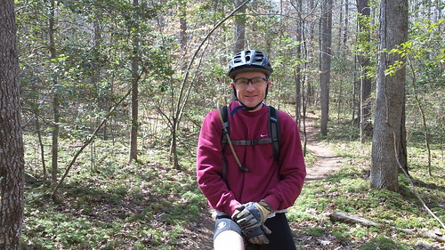 Mountain Biking at Poco March 2011