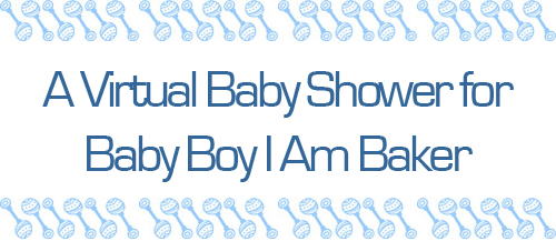 Baby Shower Button