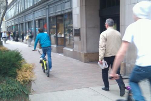 sidewalk riders