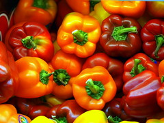 Peppers (AlfredoZablah) Tags: pictures old city travel family light vacation macro bird art classic beach fashion birds yellow digital america garden landscape fun photography photo reflex gallery tour image photos live central modelos ciudad olympus el colores explore alfredo salvador peppers traveling turismo pimiento zuiko impressive mejor mejores impresionante centroamrica e510 uro 70300mmed xplored zablah alfredozablah