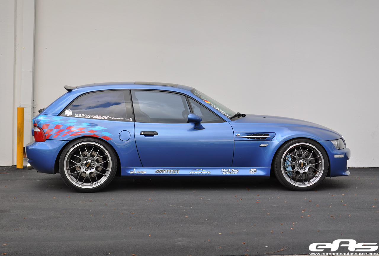 Eas 2001 Bmw Z3m Coupe Vf570 Supercharged