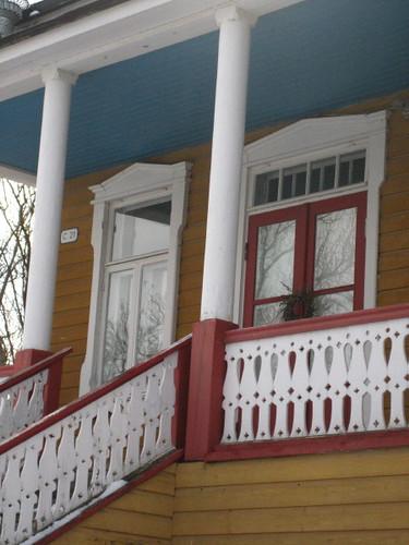 Suomenlinna porch