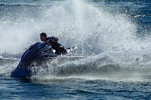 uk blue sea sports action hampshire spray watersports jetski