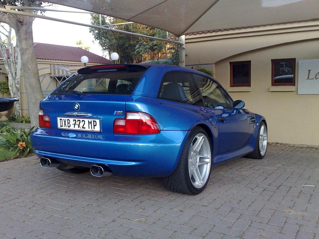 2001 M Coupe Estoril Blue Estoril Blue Black Coupe