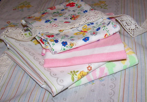 Vintage Sheet Fat Quarters giveaway