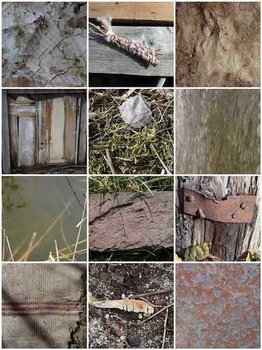 The Wabi Sabi Garden: shades of brown, signs of decay