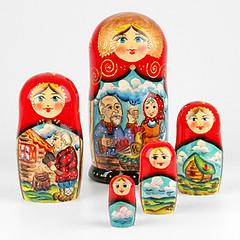 Golden Egg Russian Tale Nesting Doll (The Russian Store) Tags: matrioshka matryoshka russiannestingdolls  stackingdoll  russianstore  russiangifts  russiancollectibledolls shoprussian