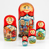 Golden Egg Russian Tale Nesting Doll (The Russian Store) Tags: matrioshka matryoshka russiannestingdolls кукла stackingdoll русская russianstore матрешка russiangifts русскиймагазин russiancollectibledolls shoprussian русскиеигрушки русскиеподарки русскиесувениры