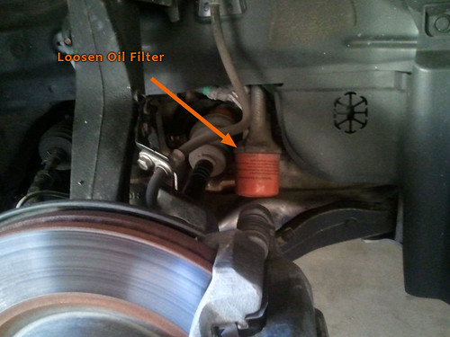 acura tl fuel filter acura tl fuel filter location easy oil change, 1 wheel off - acurazine - acura ...