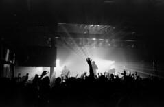 Through The Venue Alone (1 in comments) (Maddie E) Tags: show blackandwhite bw rock concert experimental 400tx indie rodinal 3200 progressive kodaktrix400 circasurvive semistanddevelopment amossouthend r09oneshot jesusdeveloper