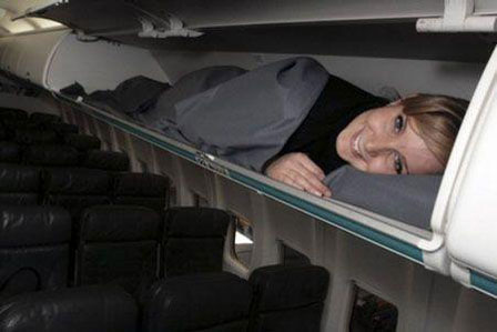 Sleeping-on-a-plane-baggage