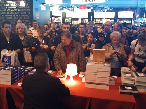 Salon du livre Paris 2011 : Éric Naulleau