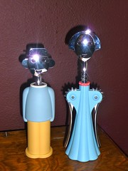 "Alessandro and Anna Alessi - a ""cheery"" pair (missjenn) Tags: anna design wine corkscrew alessi alessandro corkpuller"