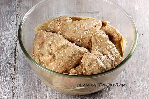 印度辛嗆香料(Garam Masala)優格雞翅-110330