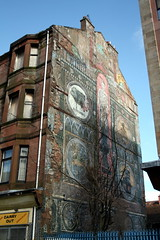 Mural at Saracen Cross, Possil.