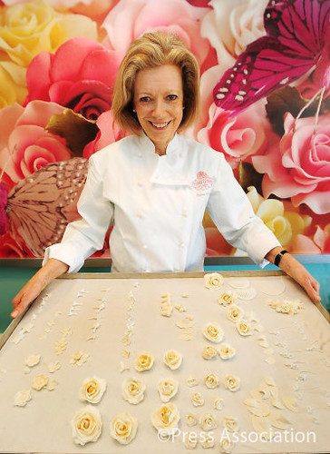 Fiona Cairns: Royal Wedding Cake Designer