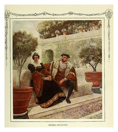 010 Lorenzo y Jessica-Shakespeare's comedy of the Merchant of Venice 1914- James D. Linton