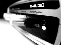 Audio interface (Digo Magno) Tags: music power interface voice sound audio recording rec maudio mobilepre phantompower
