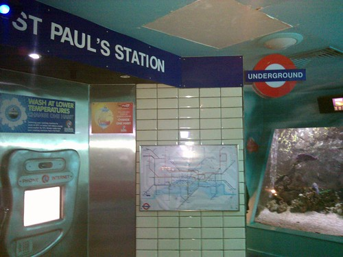 St Paul's Station  by James Cridland