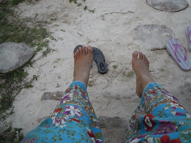 the beach at Teluk Dalam, Redang Island
