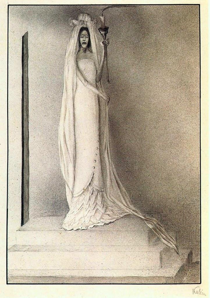 Alfred Kubin - la fidanzata dei morti