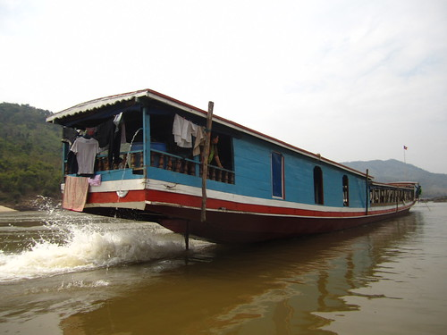 Chiang Mai - Luang Prabang (on a slow boat) 2009