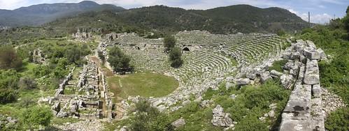 Kaunos Roman Theatre