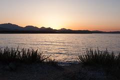 Cala Sabina (Ste.Zani) Tags: calasabina paesaggio costa acqua water mare sea sunset tramonto spiaggia calma cielo sky cala sabina sardegna