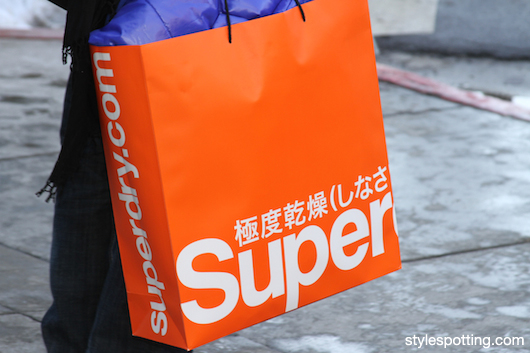 Superdry bag at Sundance