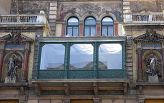 (elinor04) Tags: old windows building window architecture facade bay hungary district balcony budapest style utca vi nay s ornamentation baywindow maiman terzvros nagymez maimanhz strausz maimanhouse naysstrausz naystrausz