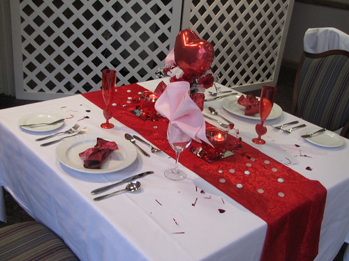 Gentil $10 Table Settings   Valentineu0027s Day