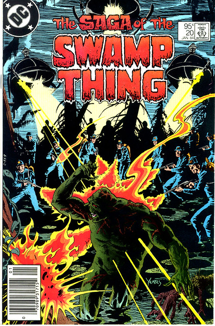 Saga of Swamp Thing 20 1984, Alan Moore's first issue
