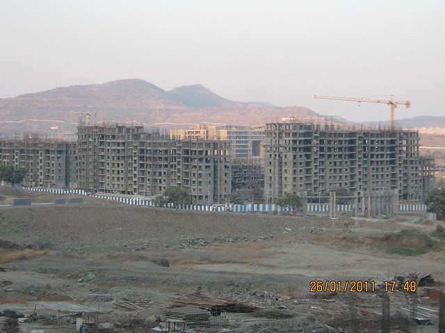 Rajiv Gandhi Infotech Park Phase 3 Hinjewadi Pune 411 057 and Megapolis Smart Homes 1 & TCS - Megapolis on 26th January 2011