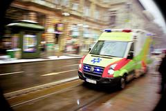no time to lose (gergosan) Tags: budapest ambulance nagykrt siren ment szirna mainringroad