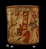 Mayan War Vase – Battle Scene (Side A)