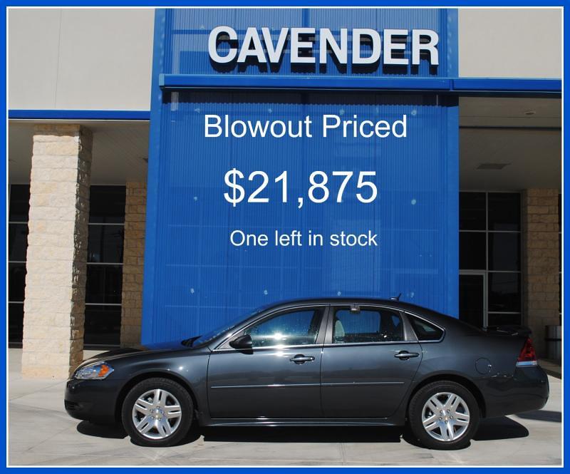 New Car Impala Lt Cavender Chevrolet San Antonio San Antonio Texas (Cavender  Auto Group)
