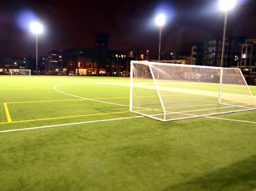 seattle night alone footballfield calanderson