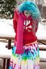 (wisely-chosen) Tags: selfportrait snow me january skirt tiedye canon50mmf18 bluehair tokidoki 2011 naturallycurlyhair manicpanicbadboyblue curlformers adobephotoshopcs5extended ardellfashioneyelashes111