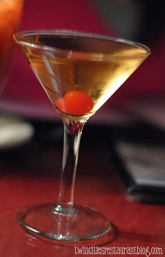 Martini at Moscow on the Hill ~ St Paul, MN